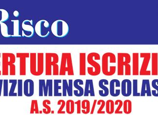apertura iscrizione servizio mensa scolastica 2019-2020